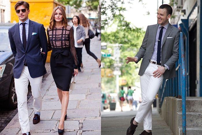 Como Debe Vestir Un Hombre El Pantalón Blanco