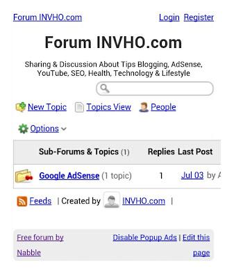 Forum INVHO.com