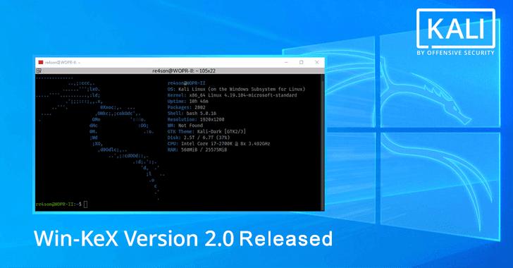Win-KeX Version 2.0