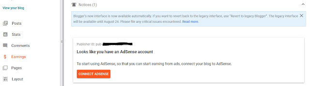 daftar adsense terbaru dengan blogspot 2020