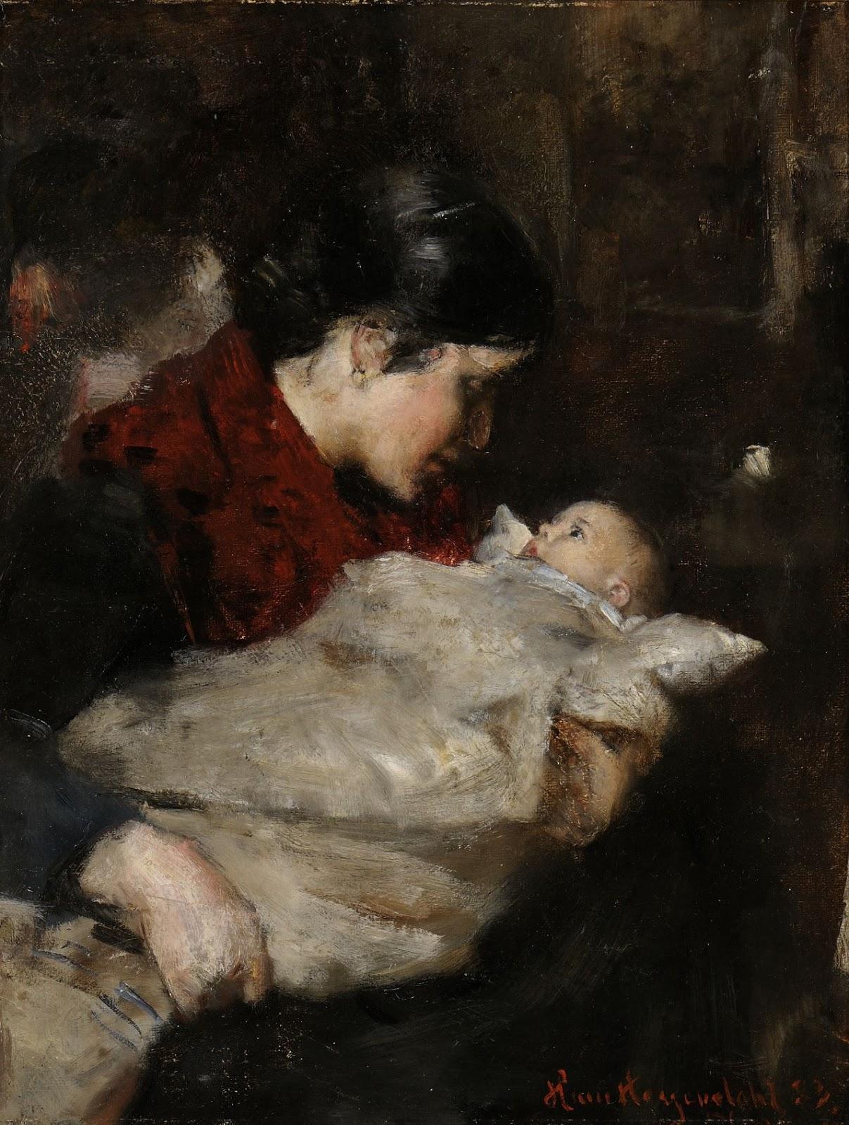 Hans  Heyerdahl  Mor  og  barn C