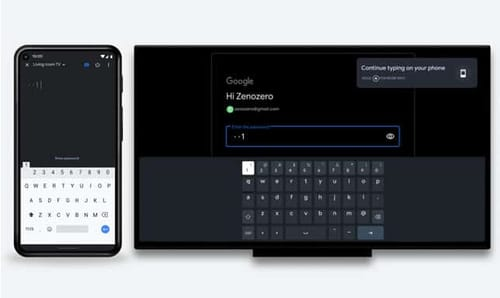 Google TV allows Android phones to be used as remote controls
