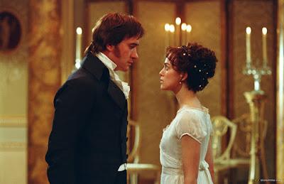 Pride and Prejudice, Mr. Darcy and Elizabeth Bennet