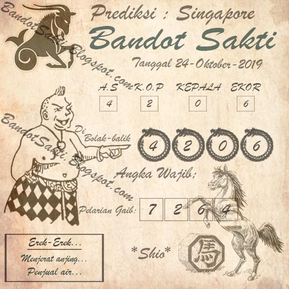 Syair Bandot Sakti Togel Sgp Kamis 24 Oktober 2019 Syair