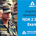 Important Questions for NDA 2 2019 Exam