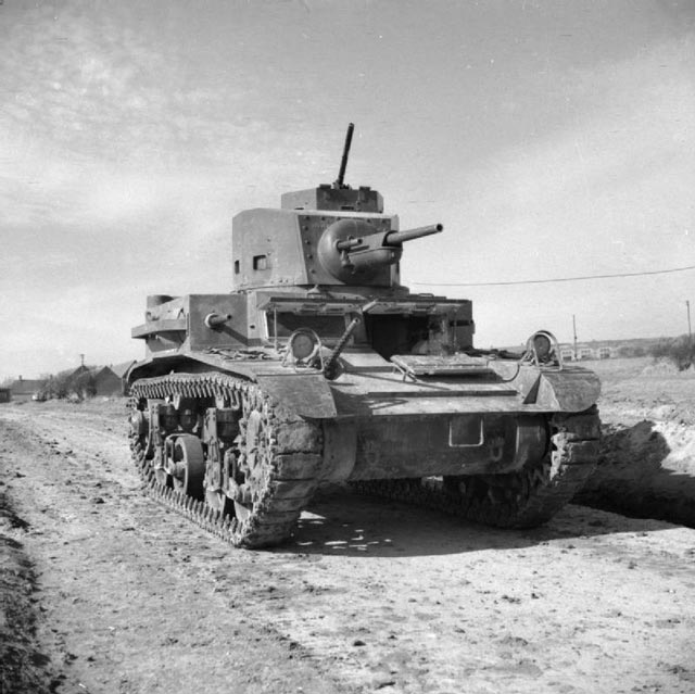 US Army M2A4 light tank in British service, 11 March 1942 worldwartwo.filminspector.com