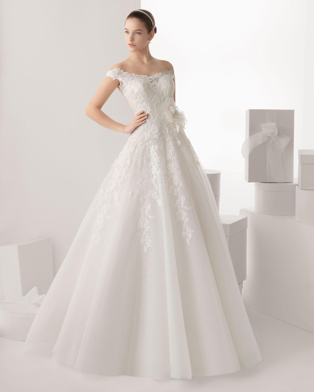 Vestidos de novia rosa clara precios 2015