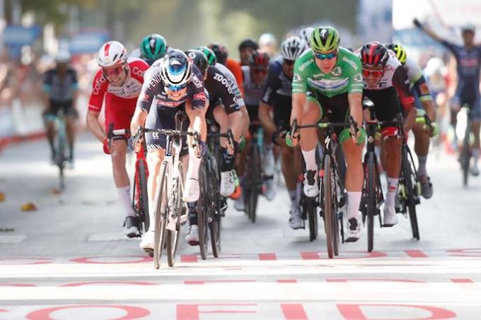 Vuelta a España 2021 - 5ª etapa clasificación