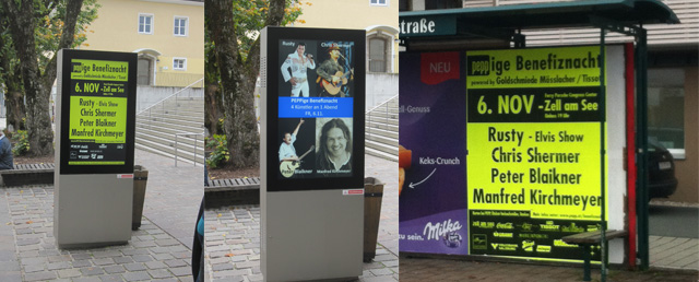 Benefiznacht, Zell am See, Pepp, Salzburg, Werbung, PR, Tissot, eventkonzept