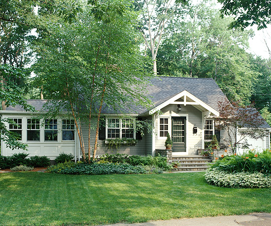 Oakview Cottage: Before And After: Pretty Home Exteriors