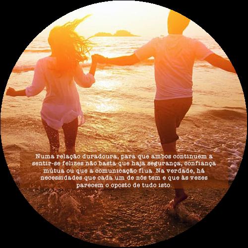 Numa relação duradoura, para que ambos continuem a sentir-se felizes não basta que haja segurança, confiança mútua ou que a comunicação flua. Na verdade, há necessidades que cada um de nós tem e que às vezes parecem o oposto de tudo isto.