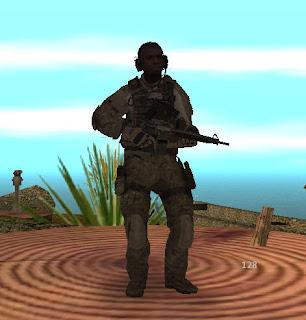Siyahi Asker Skin
