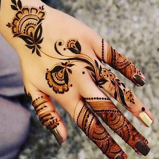 marriage mehndi designs arabic
