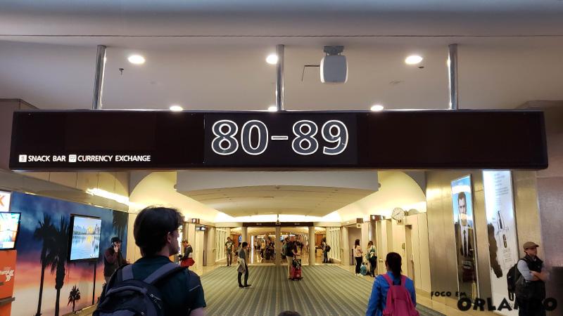 Portão 80-89 em Orlando