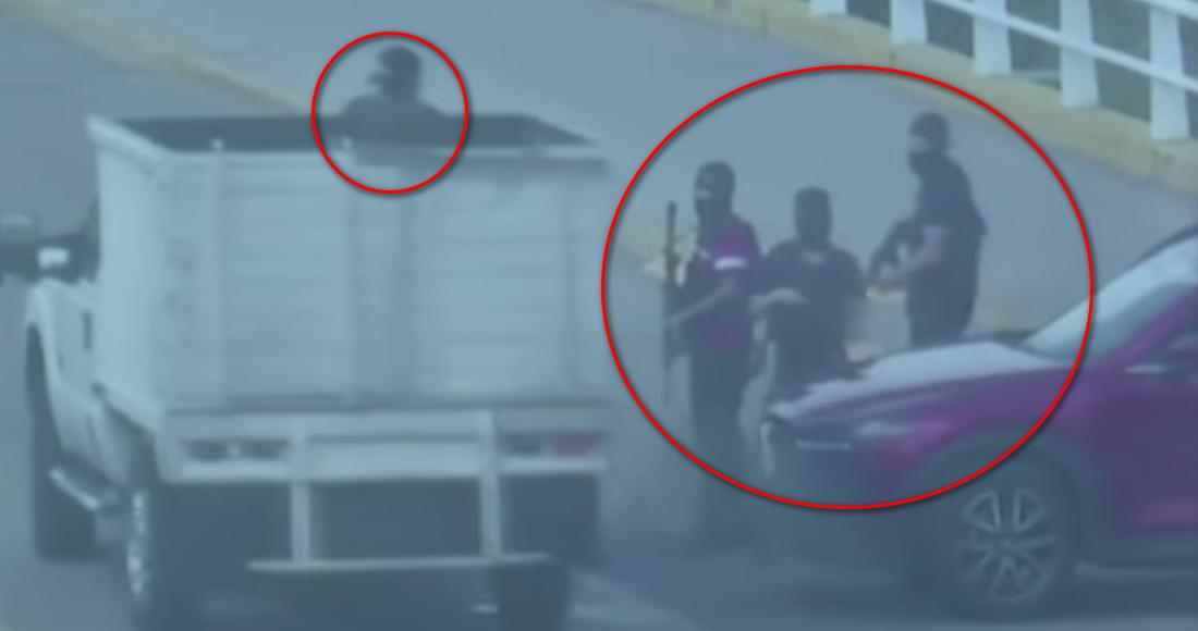 Nuevos VIDEOS muestran cómo sicarios del Cartel de Sinaloa iniciaron los narcobloqueos en las avenidas de Culiacán, Sinaloa