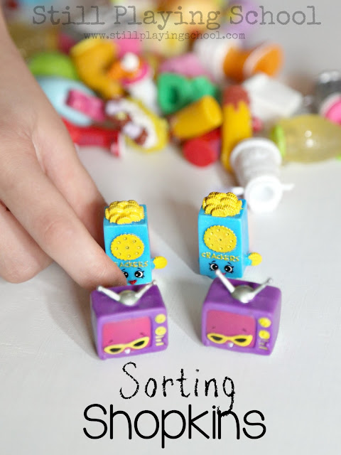 A fun way to learn while playing with Shopkins toys!