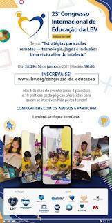Vem aí o 23º Congresso Internacional de Educação da LBV – edição on-line!