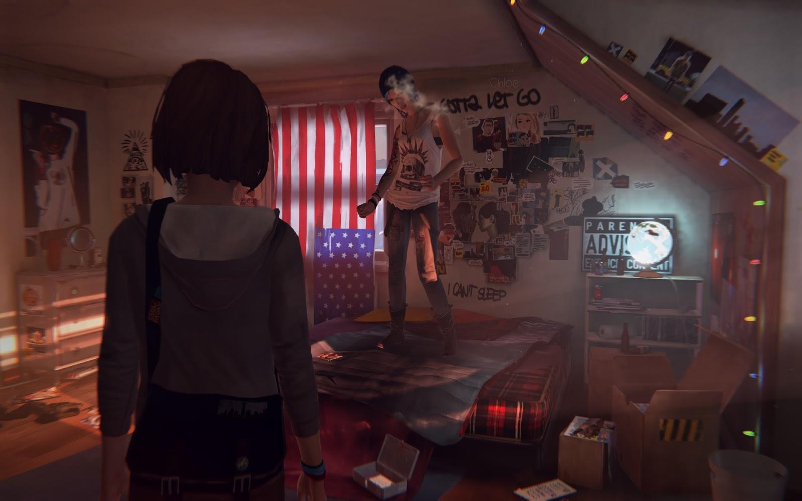 Life Is Strange Chloe Dancing - Life Is Strange FINAL [Ep.1.2.3.4.5.. Multilang 2]