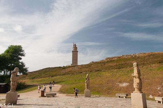 Torre de Hercules. A Coruña. Galicia