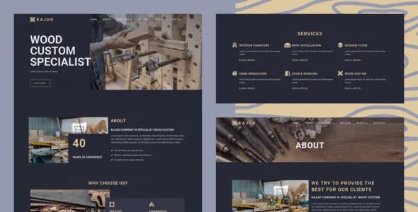Best Carpenter Elementor Template kit