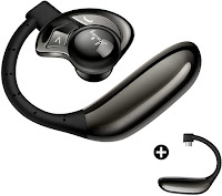 AMINY UFO Bluetooth Headset Wireless Bluetooth Earpiece-Compatible