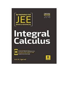Arihant Integral Calculus 2018 Edition [PDF]