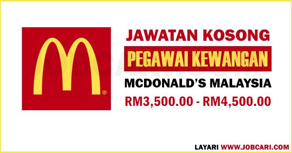 IKLAN JAWATAN KOSONG MCD MALAYSIA