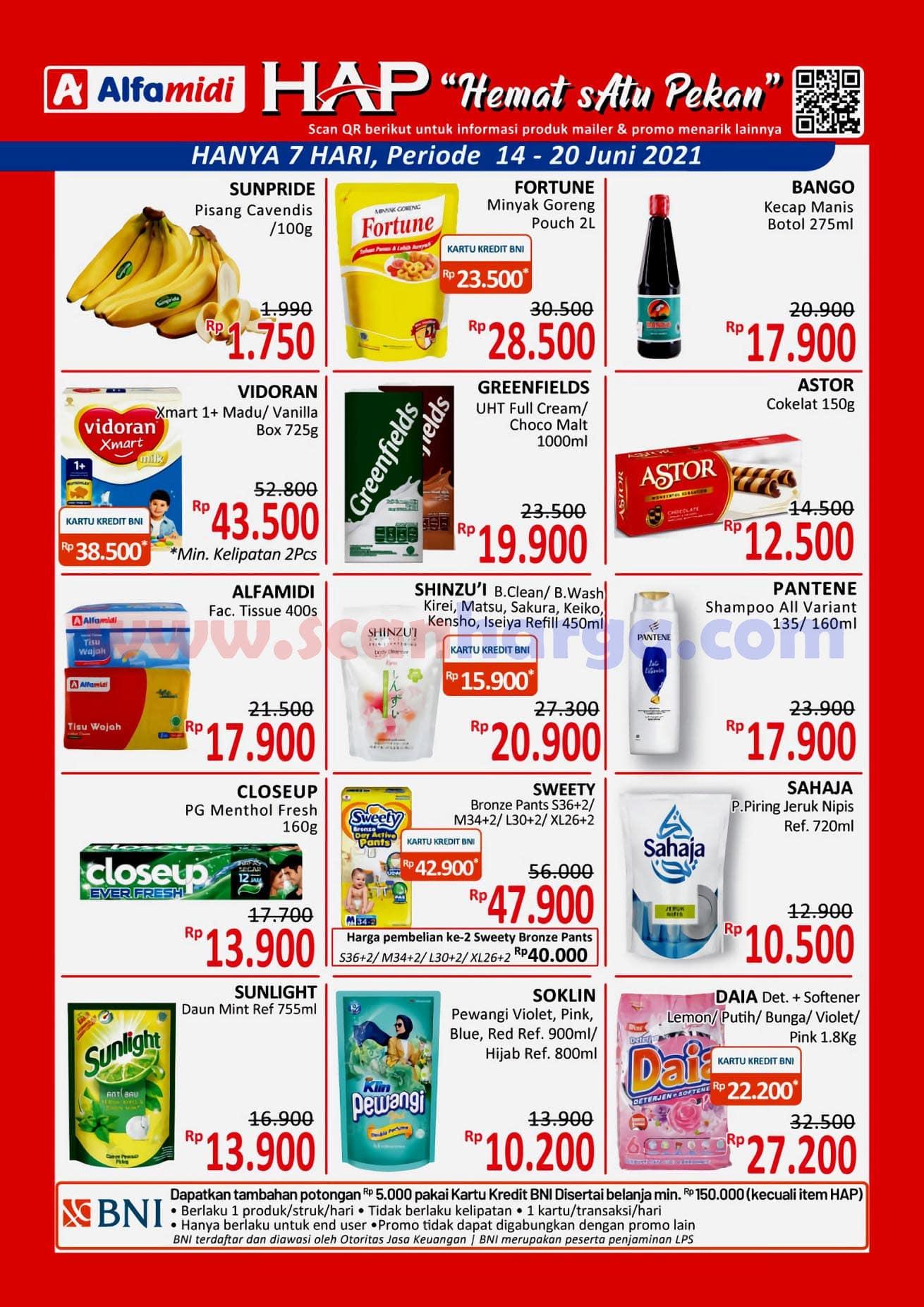 Katalog HAP Promo Alfamidi Satu Pekan 14 - 20 Juni 2021 1