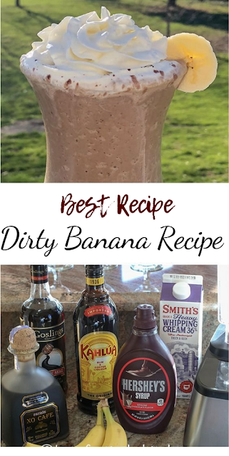 Dirty Banana Recipe #healthydrink #easyrecipe