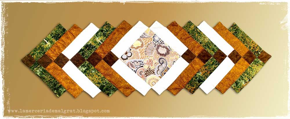 La merceria de malgrat patchwork camino de mesa - Camino mesa patchwork ...