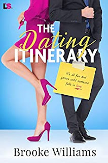 The Dating Itinerary - laugh-out-loud romantic comedy book promotion by Brooke Williams