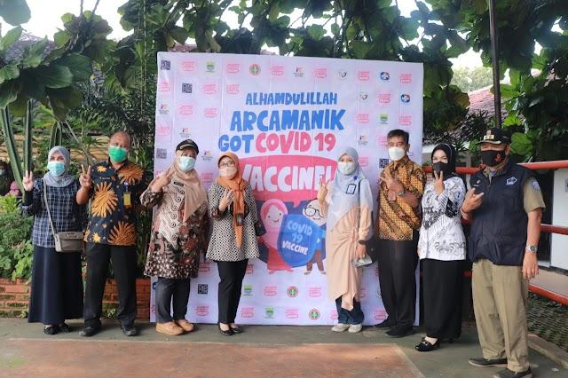Sekolah Mutiara Bunda Bersama Kecamatan Arcamanik Sukses Kolaborasi Percepatan Vaksinasi Covid-19