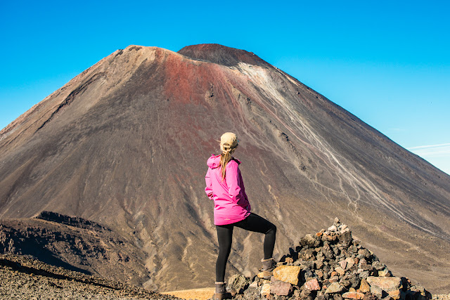 The mountain conquered on Tongariro Crossing