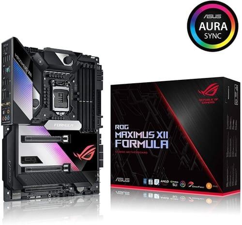 Review ASUS ROG Maximus XII Formula Z490 Motherboard