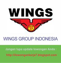 Lowongan Kerja Terbaru PT Wings Surya