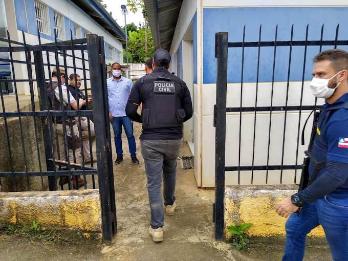 OPERAÇÃO MUNDARE   Polícia Civil com apoio da Polícia Militar (RONDESP e 8ª CIPM) deflagra operação em Iguaí