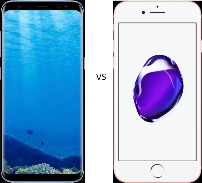 Samsung Galaxy S8 ve iPhone 7 Kıyaslaması
