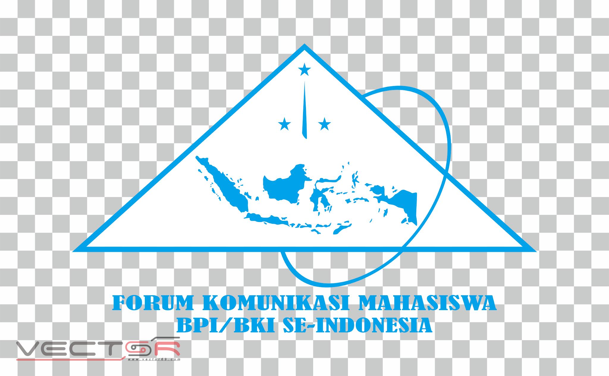 Logo FKM BPI/BKI Se-Indonesia Biru - Download .PNG (Portable Network Graphics) Transparent Images