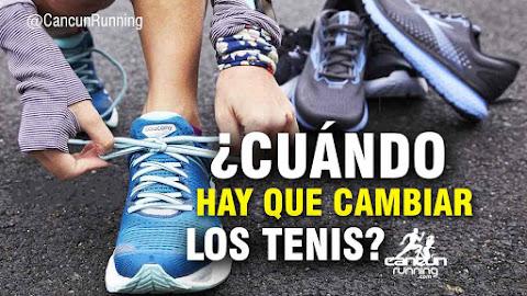 cuando hay que cambiar los tenis para correr