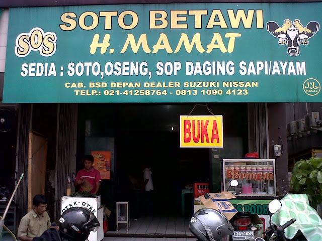 Berburu Soto Betawi Yang Paling Enak Di Jakarta Inilah Soto Betawi Yang Paling Enak Di Jakarta Soto Betawi H Mamat