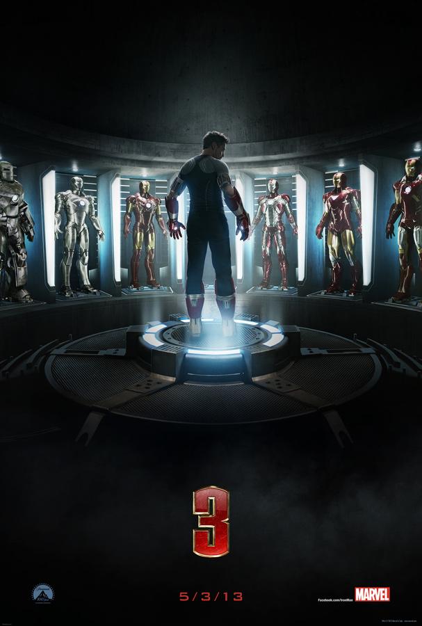ตัวอย่างหนังใหม่ : Iron Man 3 (หุ่นเกราะเหล็กมหาประลัย 3)  ซับไทย poster