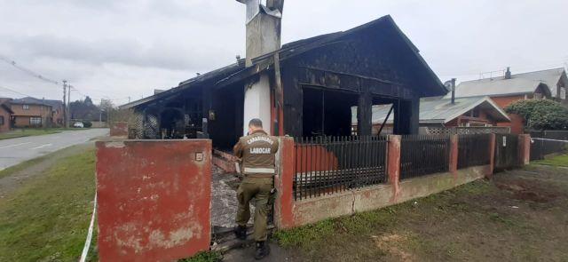Incendio en Puerto Varas