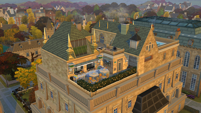Sims 4 Discover University Wyvern Hall Overhaul