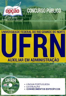 Apostila UFRN 2017 Auxiliar em Administração