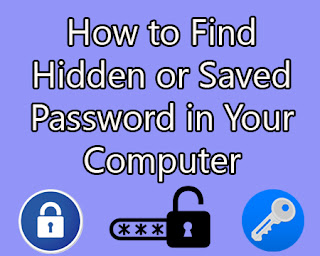 how to find your computer password