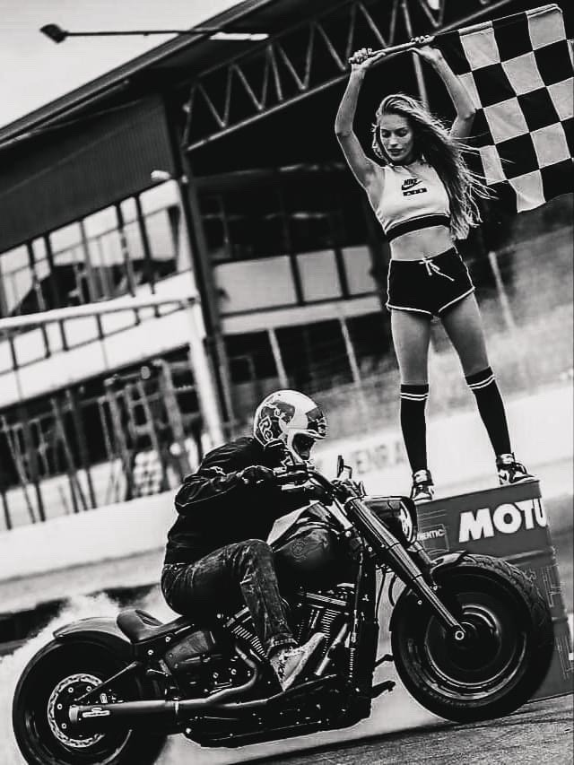 Harley Drift Bike - Photographer Unknown