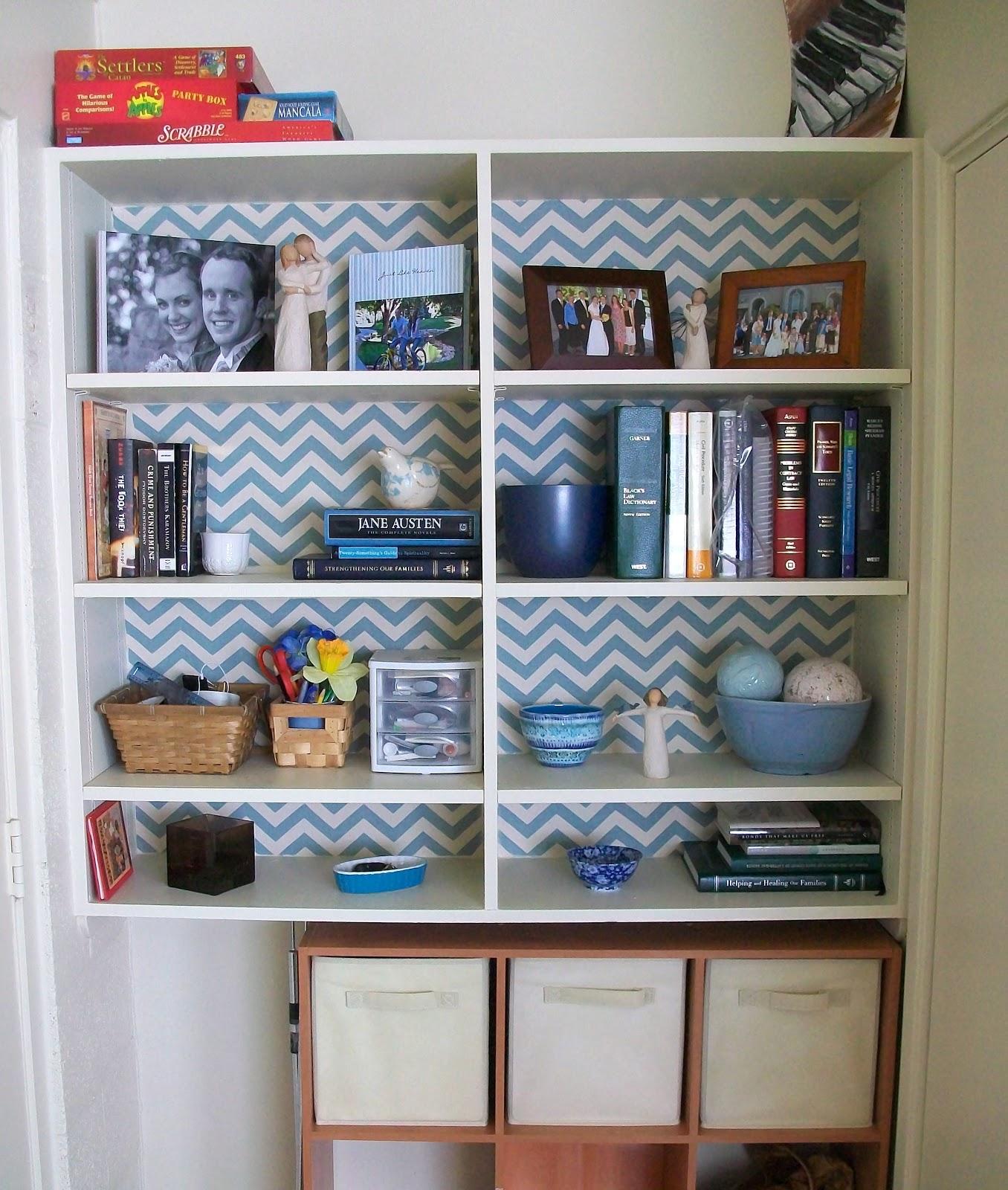 Temporary Fabric Wallpaper Tutorial • Heather Handmade
