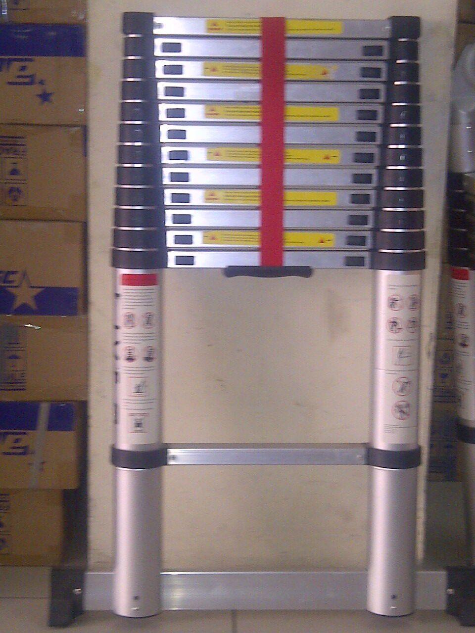 Toko Elite Palembang Liveo Tangga Single Telescopic Ladder 38m Lv 202
