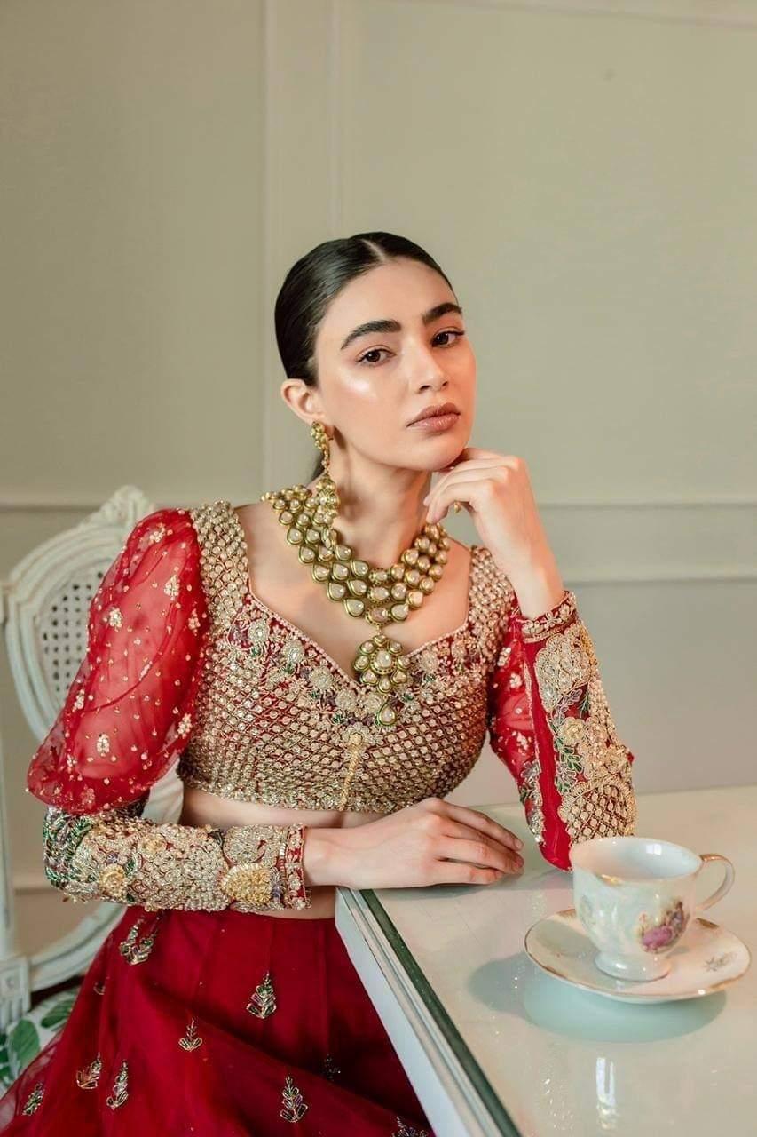 Saheefa Jabbar Khattak channeling the royalty in her latest shoot