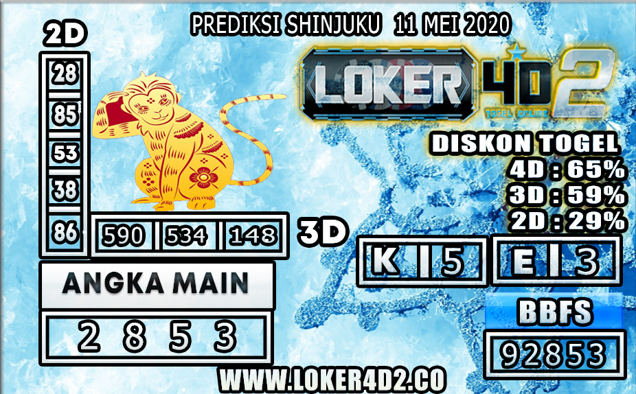 PREDIKSI TOGEL SHINJUKU LUCKY 7 LOKER4D2 11 MEI 2020